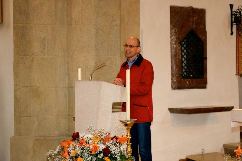 Tirols Obmann Egon Saurer begrüßte in der Stadtpfarrkirche Kufstein die Gäste