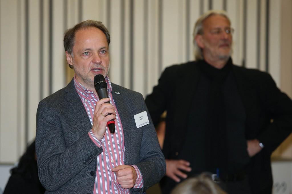Ing. Gernot Waste als Vertreter der Interessensgemeinschaft der Dialysepatienten und Nierentransplantieren Kärntens (Fotocredit: Welldone/Mike Vogl/APA-Fotoservice)