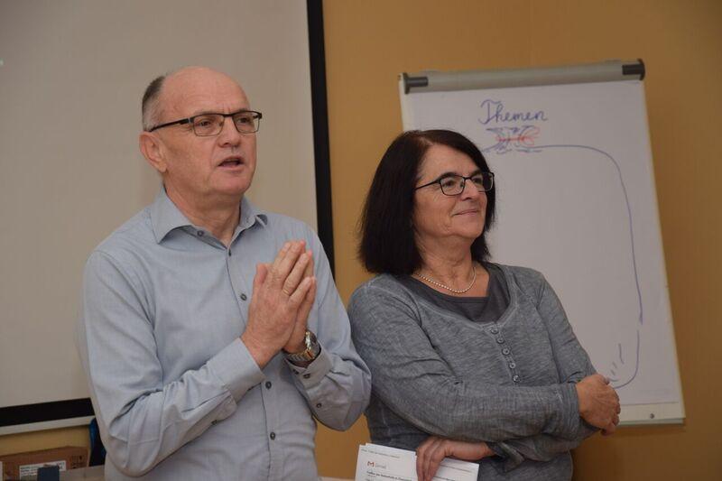 ANÖ-Präsident Rudolf Brettbacher mit Anne Kunkl cANÖ/AL